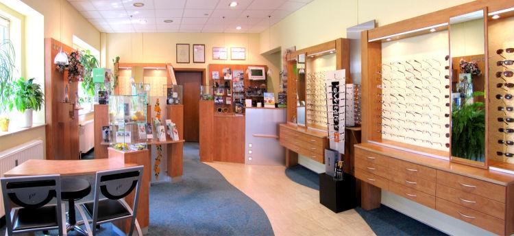 Augenoptik Ulbrich Geschäft innen